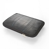 Recycled tire tube Laptop case - Verna (size L)