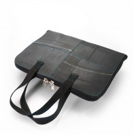 Recycled tire tube Laptop holder - Armi (size M)