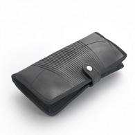 Recycled tire tube Passport holder