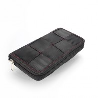 Recycled seat belt Wallet - Micky