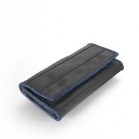Recycled tire tube Wallet - Melanie