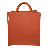 Sac en jute et coton - Orange