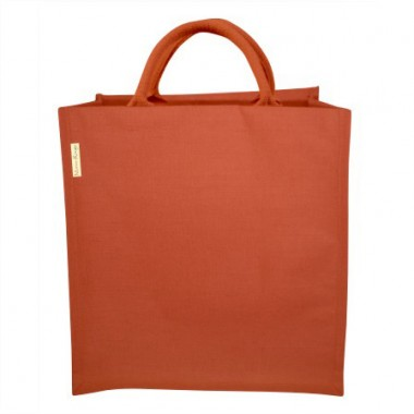 Sac coton et jute orange