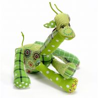 Stuffed toy cotton Annie the girafe