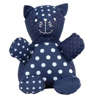 Organic cotton Stuffed toy : Cat, Bertrand