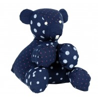 Organic cotton Stuffed toy : Bear, Henri
