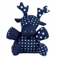 Doudou coton BIO : Paul , le Cerf