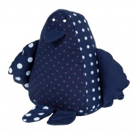 Doudou coton BIO : Bruno , le Pingouin