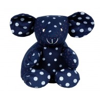 Doudou coton BIO : V&eacute;ronique, la Souris