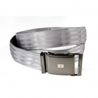 Belt (Recycled seat belt) - Grey