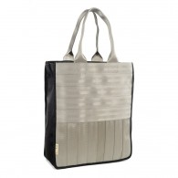 Shopping bag - Véronique (Light Grey)