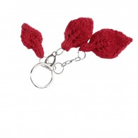 Key holder - Leaf - Red