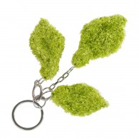 Key holder - Leaf R (recycled) - Vert
