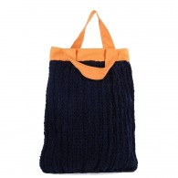 Savitri bag - Navy blue Orange