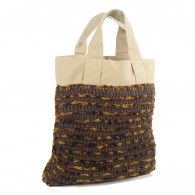 Anjali Bag - Natural and Brown