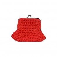 Purse Lata (cotton) - Red
