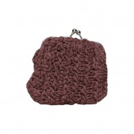 Purse Shanti (cotton) - Brown Chocolate