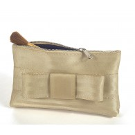 Sam smal pouch with bow