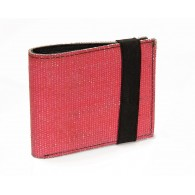 D.C.,  blue wallet card-holder in recycled fire hose and inner tube