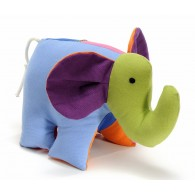 Stuffed toy Elephant Petit Salomon