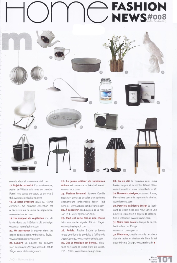 HOME FASHION NEWS SEP2012