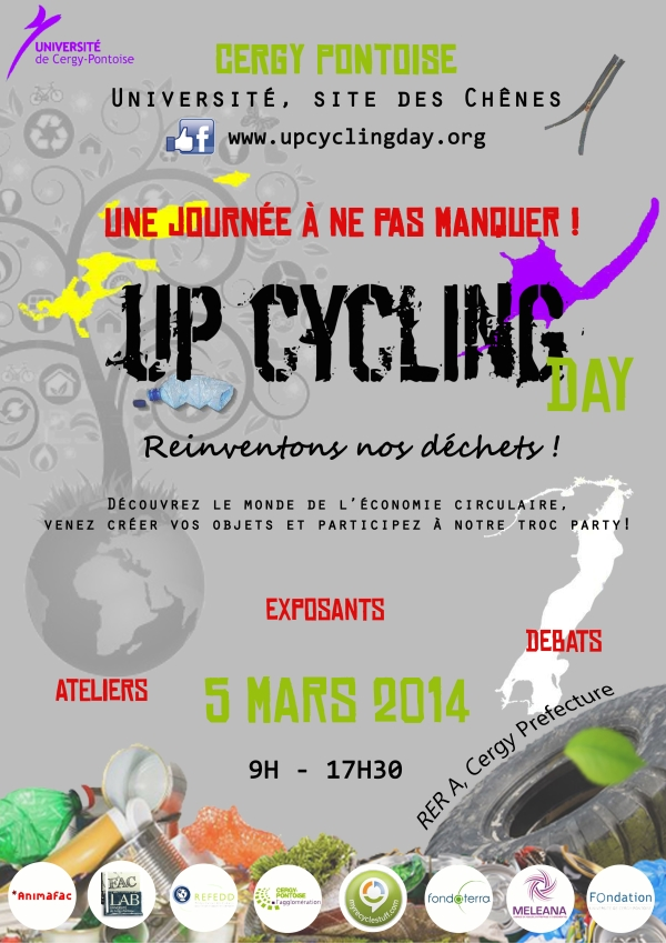 Affiche UPCYCLING DAY